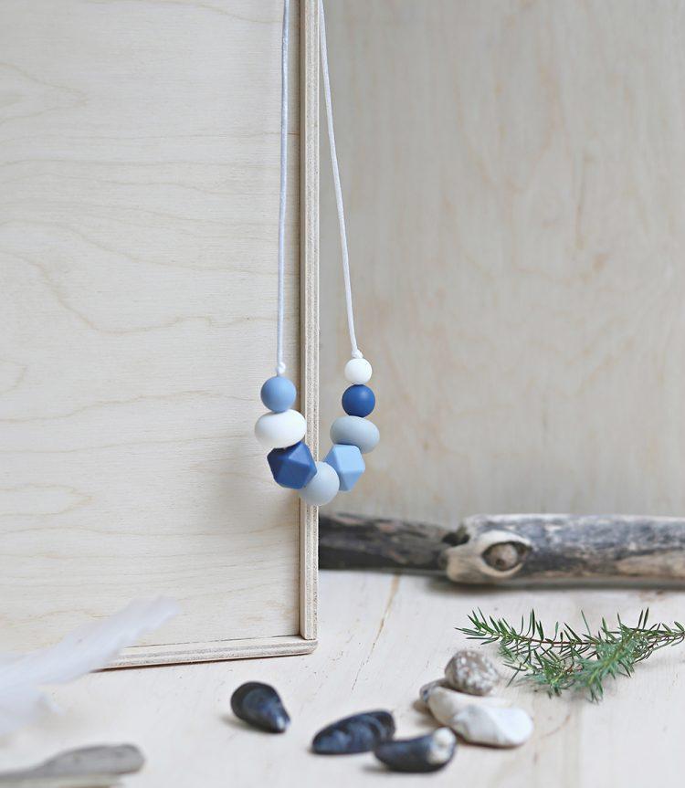 Necklace Ocean Baby blue