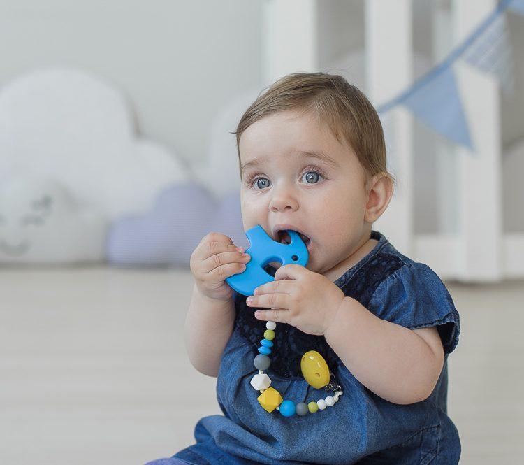 kramtukas kūdikio dantukams lavinantis